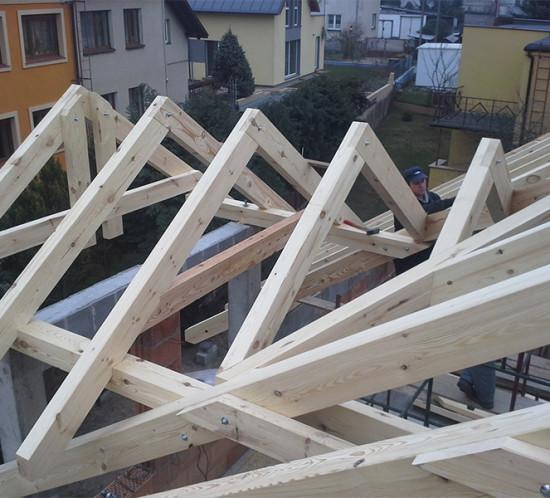 Dach na domku jednorodzinnym